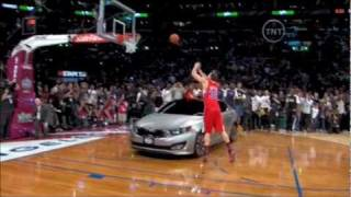 2011 NBA Dunk Contest ( Griffin, McGee, DeRozan, Ibaka Dunks )