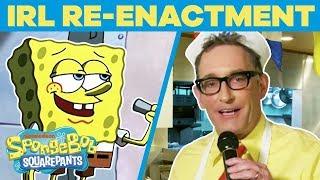 SpongeBob Cast Remake BEST Scenes EVER In REAL Life 🤪 Happy Birthday, SpongeBob | #TBT