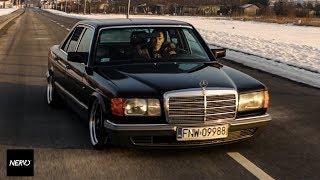 Bagged Mercedes W126 by Magic Garage