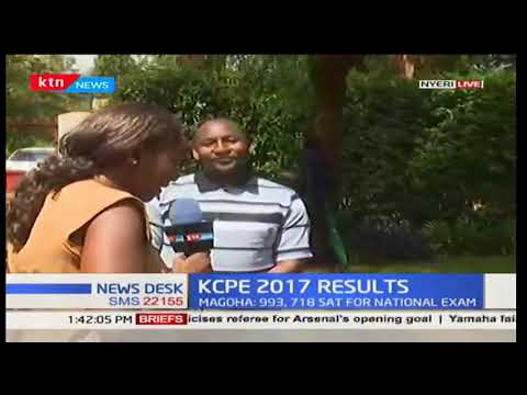 Some schools in Nyeri county experiencing slow recipients of KCPE results