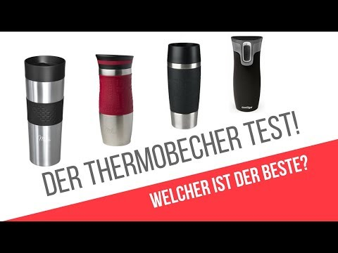 DER THERMOBECHER TEST!  - Milu vs. Emsa vs. Contigo Travel mug Vergleich - Beste Thermobecher?