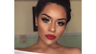 Holiday Glam Makeup Tutorial | Sarahy Delarosa | Kholo.pk