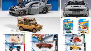 Hot Wheels 2021 New Cars, New Recolors, Mini GT Camel Trophy Land Rover Defender Dirty Version