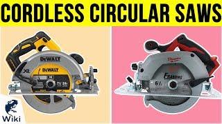 10 Best Cordless Circular Saws 2019