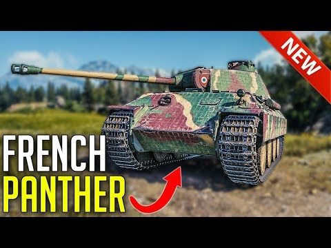 French Premium Panther First Look ► World of Tanks Bretagne Panther - Tankfest 2019