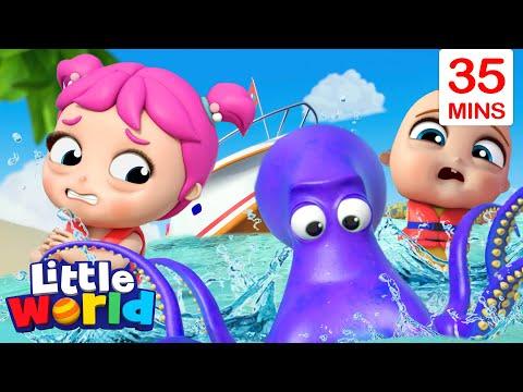 Ocean Adventure + More Kids Songs & Nursery Rhymes by Little World