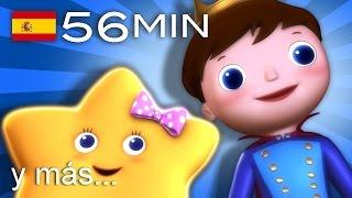 Estrellita, ¿dónde estás?   Y muchas más canciones infantiles   ¡56 min de LittleBabyBum!