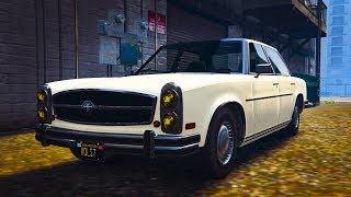 Обзор автомобиля: Benefactor Glendale. Долгожитель. GTA Online.