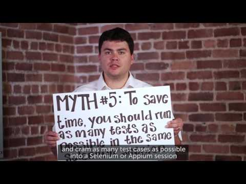 Sauce Labs Automated Testing Mythbusters - More Tests Are Not The Answer Related YouTube Video
