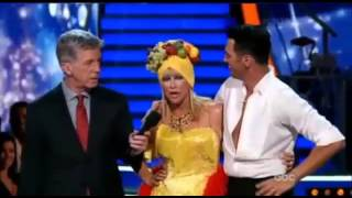 Suzanne Somers Vs Tony 'Samba'   Dancing With The Stars 2015 Week 3