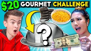 Cooking A $20 Gourmet Meal For 2 | At Home Cooking Challenge