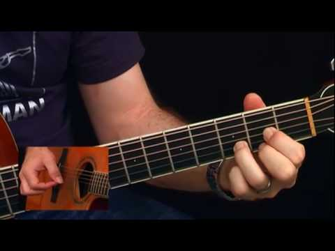 Guitar Finger Picking Exercises 1 - 3 - Video Guitar Lessons For Beginners