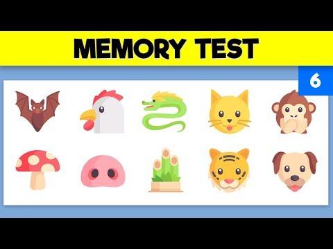 VISUAL MEMORY TEST   Train your visual memory - Video 6