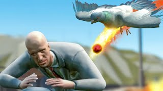 THIS PIGEON POOPS FIREBALLS - Pigeon Simulator Part 1 | Pungence