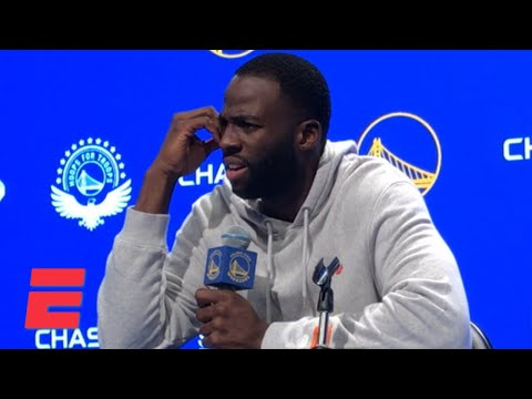 Draymond Green on his ejection: I'll never let a grown man tell me not to talk   NBA Sound