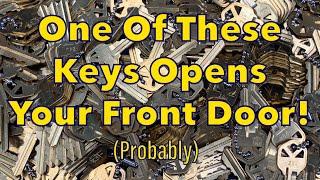 """[1016] Kwikset """"SmartKey"""" Tryout Keys"""