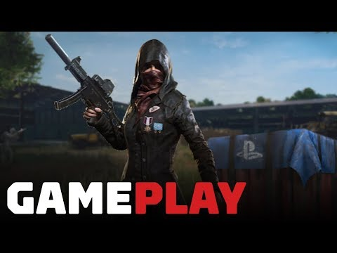 13 Minutes of PUBG Gameplay on PS4