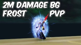 2M Damage - 8.0.1 Frost Mage PvP - WoW BFA