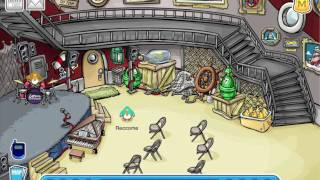 Club Penguin: How to play the Air Drums