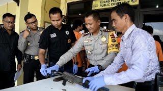 EMPAT PELAKU TEROR DI TANGKAP POLRES PIDIE BESERTA SEPUCUK SENJATA AK 47