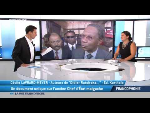 Didier RATSIRAKA Transition démocratique et pauvreté à Madagascar  by Tv plus Madagascar