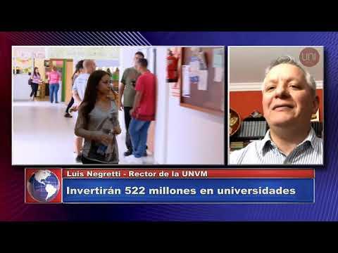 Invertirán 522 millones de pesos en universidades nacionales de Córdoba
