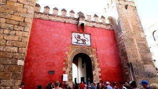 #775 SEVILLA's Greatest Palace REAL ALCAZAR  DE SEVILLE - Travel Vlog (9/20/18)