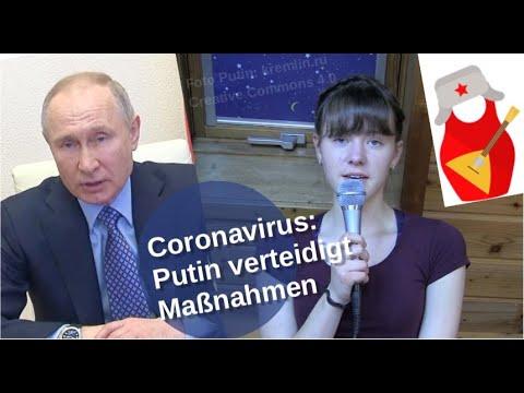 Coronavirus: Putin verteidigt Maßnahmen [Video]