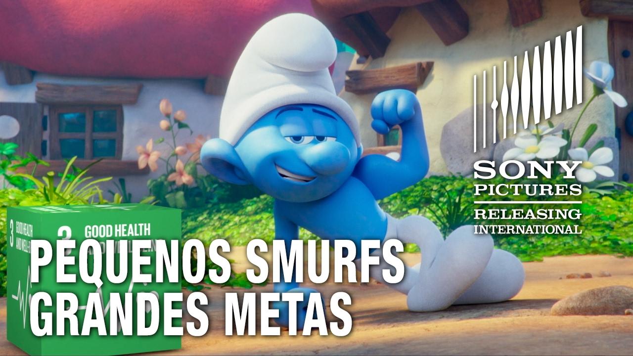 Pequenos Smurfs Grandes Metas | Parceria ONU e UNICEF pelo Desenvolvimento Sustentável
