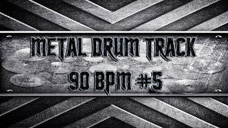 80's Arena Metal Drum Track 90 BPM (HQ,HD)