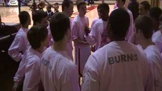 DSHS Varsity Basketball Team-Pregame 2010