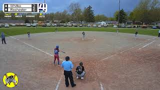 Rochester Softball vs Whitko