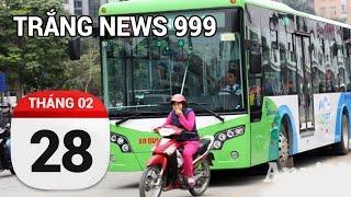 Văn hóa chặn đầu xe buýt.   TRẮNG NEWS 999   28-02-2017