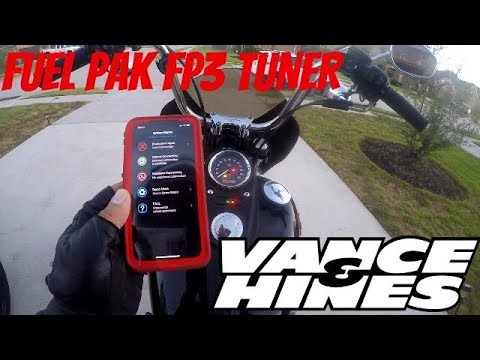 MESSING WITH VANCE AND HINES FUEL PAK FP3 Mp3