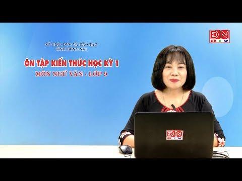 Ôn tập kiến thức HK1- Môn Ngữ Văn - lớp 9 (14-03-2020)