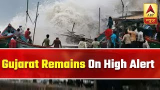 Gujarat Remains On High Alert Even After Vayu Changes Course | ABP News