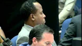 Conrad Murray Trial   Day 10, Part 1