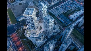 FPV & Mavic Pro High-rise dive | Vantone Centre | Hangzhou China | CLOU architects