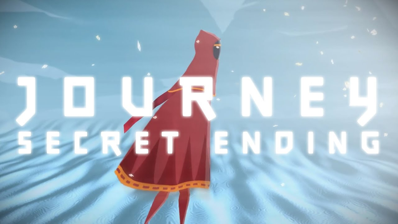 Journey's Alternate Ending. Just, Uh, Watch For Yourself.