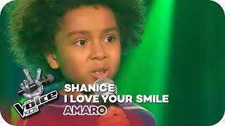 Shanice - I love your smile (Amaro) | Blind Auditions | The Voice Kids 2016 | SAT.1
