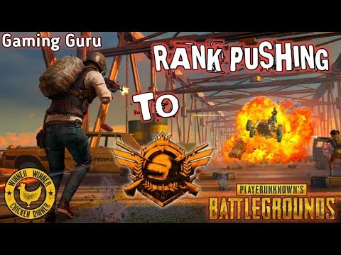 PUBG Mobile Live - Rank Pushing To Conqueror