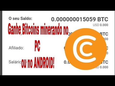 CRYPTO TAB: Como ganhar BITCOINS minerando no PC ou ANDROID sem investir.