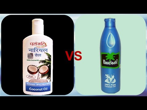 , title : 'Patanjali Coconut Oil Review vs Parachute Coconut oil  .'