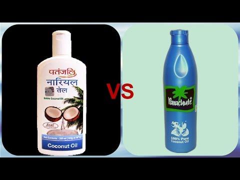 , title : 'Patanjali Coconut Oil Review vs Parachute Coconut oil  .'