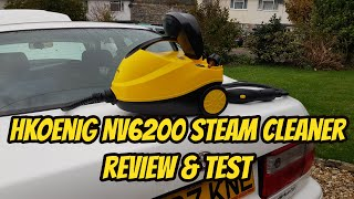 HKoenig NV6200 Steam Cleaner - Review & Test