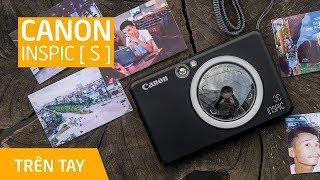 Dùng thử máy chụp & in ảnh Canon iNSPIC [ S ]: nhanh, tiện, bản in thiên màu ấm....