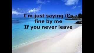 Fine By Me- Andy Grammer with lyrics