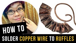 How To Solder Copper Wire With EZ Torch - Kharisma Ruffles
