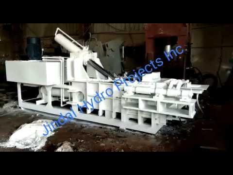 Hydraulic Baling Press Jumb (Without Hopper)
