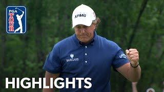Highlights from Phil Mickelson's 2011 Houston Open victory